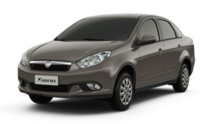 Foto da primeira gera��o do Fiat Grand Siena (2012-)