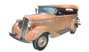 Foto do Nissan Model 70 Phaeton - 1938